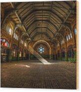 Hall Beam Wood Print