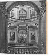 Hall In Michigan State Capital Wood Print