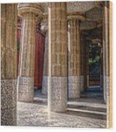 Hall Of 100 Columns Wood Print