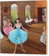 Hall Of Dance Wood Print by Graham Keith