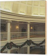 Hall Of Presidents Walt Disney World Panorama Wood Print