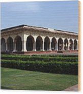Hall Of Public Audience - Red Fort - Agra Wood Print