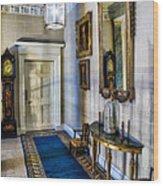 Hall Of Shadows Wood Print