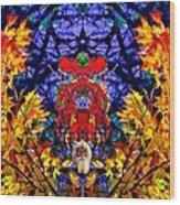 Hall Of The Color King Wood Print