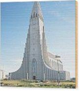 Hallgrimskirkja Church - Iceland Wood Print