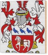 Halloran Coat Of Arms Irish Wood Print