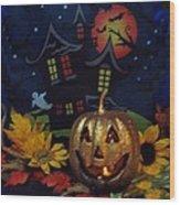 Halloween 2014 Wood Print by Rosalie Klidies