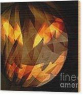 Halloween Moon 2 Wood Print