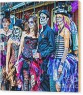 Halloween Team Wood Print