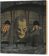 Halloween V Wood Print