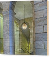 Hallway New York Public Library Wood Print
