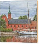 Halstad Castle 03 Wood Print