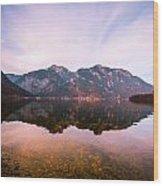 Halstatt Water 1 Wood Print