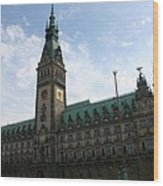Hamburg - City Hall - Germany Wood Print
