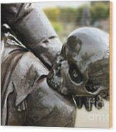Hamlet Contemplating The Skull  Wood Print by Terri Waters