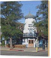 Hamlet Square Solvang California Wood Print