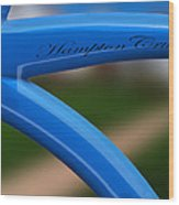 Hampton Cruiser  Wood Print