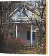 Hampton Slave Quarters Wood Print