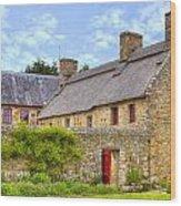 Hamptonne Country Life Museum - Jersey Wood Print