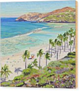 Hanauma Bay - Oahu Wood Print