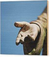 Hand Of Christ. Wood Print