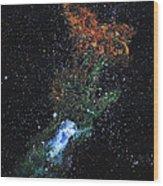 Hand Of God Pulsar Wood Print