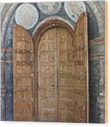 Hand-painted Gate Wood Print