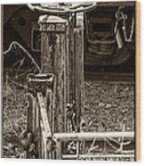 Handbrake Wood Print