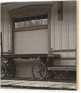 Handcarts Wood Print
