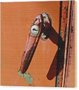 Handle With Care Wood Print