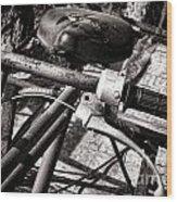 Handlebar Wood Print