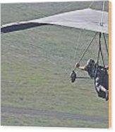 Hang Glider 2 Wood Print
