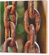 Hanging Chain Wood Print