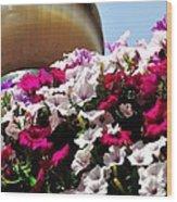 Hanging Flowers 6720 Wood Print
