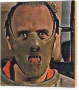 Hannibal Lecter Wood Print