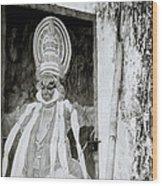 Hanuman Wood Print