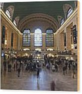 Happy 100th Birthday Grand Central Terminal Wood Print