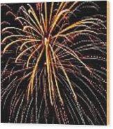Happy 4th Of July - No. 1 Wood Print