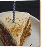 Happy Birthday Wood Print