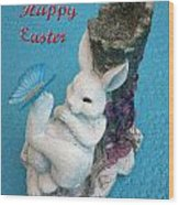 Happy Easter Card 7 Wood Print