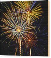 Happy Fourth Of July   Wood Print