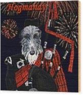 Happy Hogmanay Wood Print