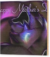 Happy Mothers Day 01 Wood Print