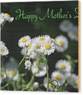 Happy Mother's Day 03 Wood Print