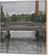 Harbor Bridge - Baltimore Harbor Wood Print