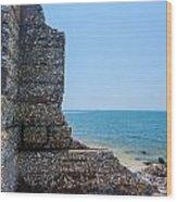 Harbor Island Ruins 1 Wood Print