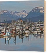 Harbor Life Wood Print