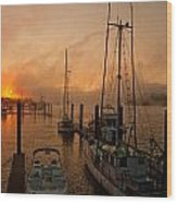 Harbor Wood Print