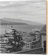 Harbor Lookout - Monte Carlo Wood Print