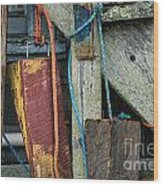 Harbor Shanty Wood Print